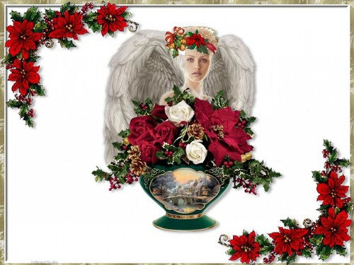Natale Angel wallpaper
