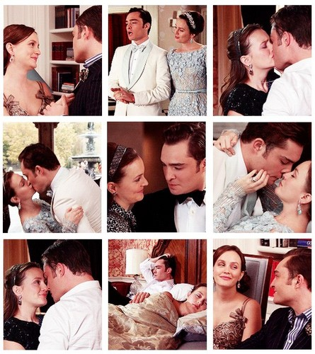 "Chuck and Blair in Series Finale Episode ""New York I প্রণয় You, XoXo""♥"