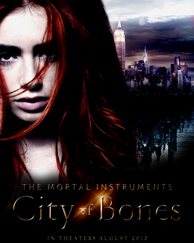 City of bones my fanmade poster
