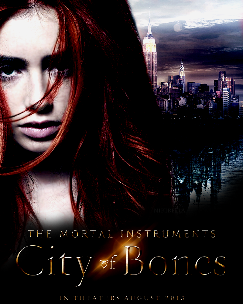 Mortal Instruments City of bones my fanmade poster