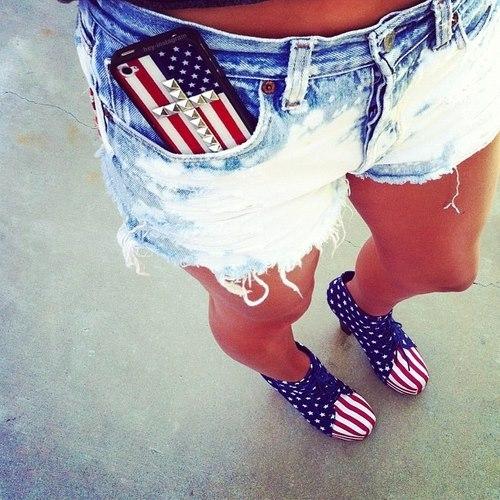 Cool American girl