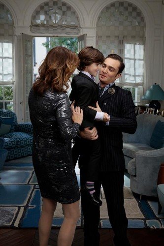 Daddy Chuck with Henry and Eleanor ♥ ♥ ♥