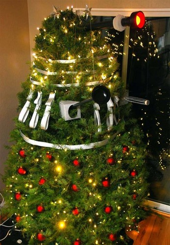 Dalek 圣诞节 树