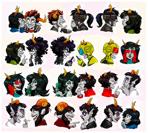 Dancestor trolls