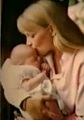 Debbie Rowe with baby Paris!