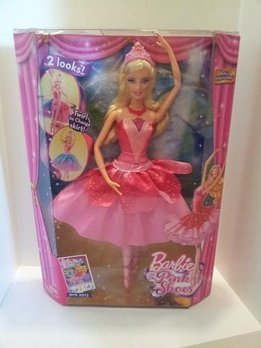 búp bê - búp bê barbie In the màu hồng, hồng Shoes