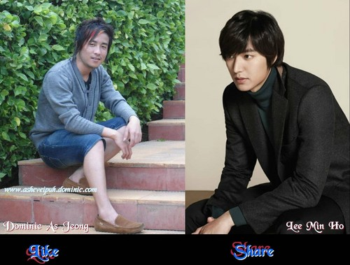 Dominic As Jeong & Lee Min Ho