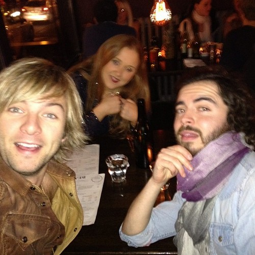 Keith Harkin hình nền possibly with a bistro entitled Dublin with the hoods