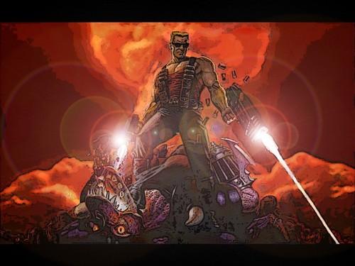 Duke Nukem Wallpaper With Anime Entitled