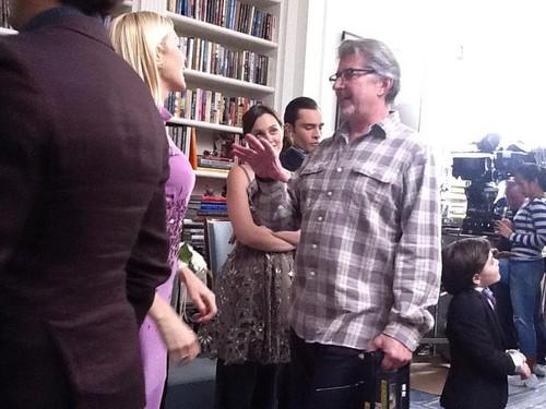 Ed & Leighton - Set foto with Alex