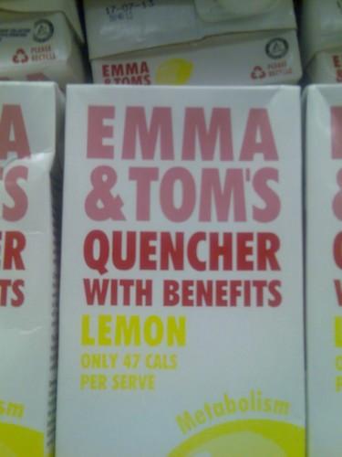 Emma and Tom ジュース XP