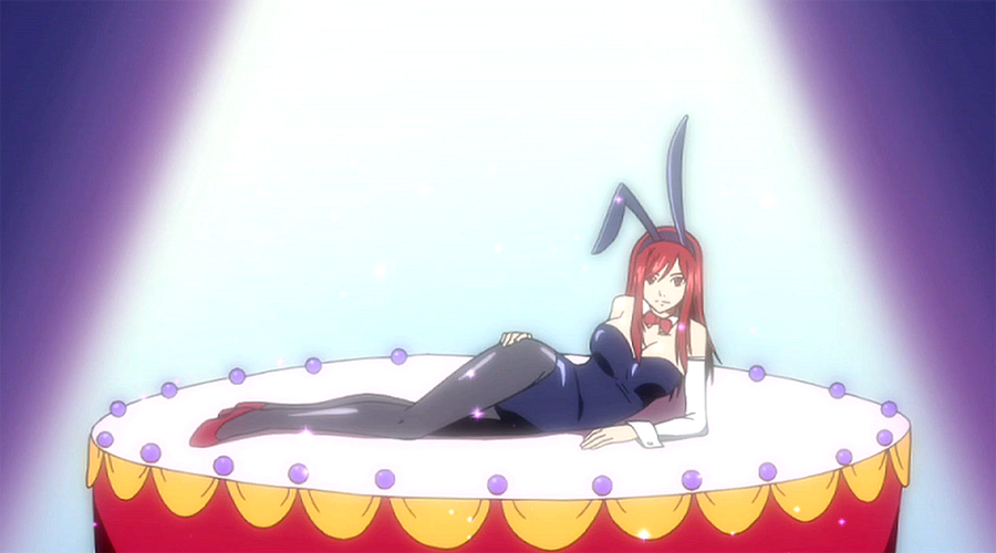 Erza bunny costume