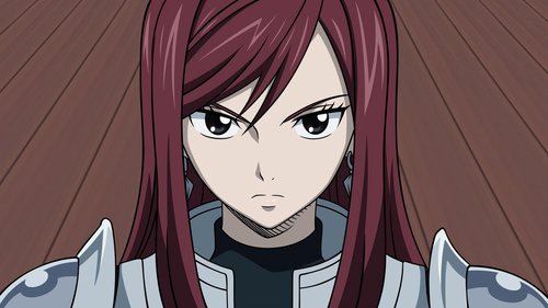 Erza Scarlet wallpaper possibly containing anime entitled Erza