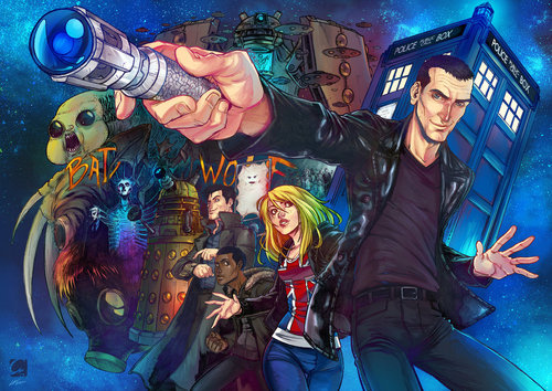 doctor who fondo de pantalla with anime called fan Art