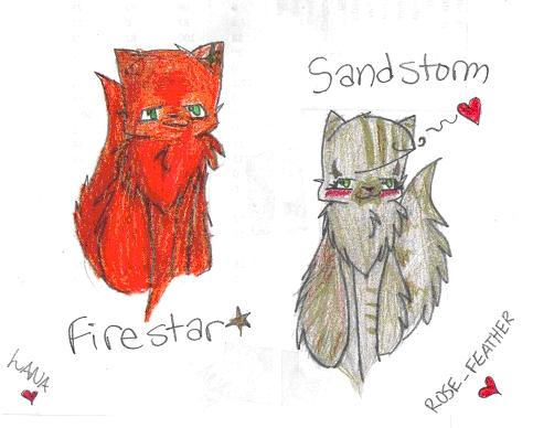 Firestar x Sandstorm