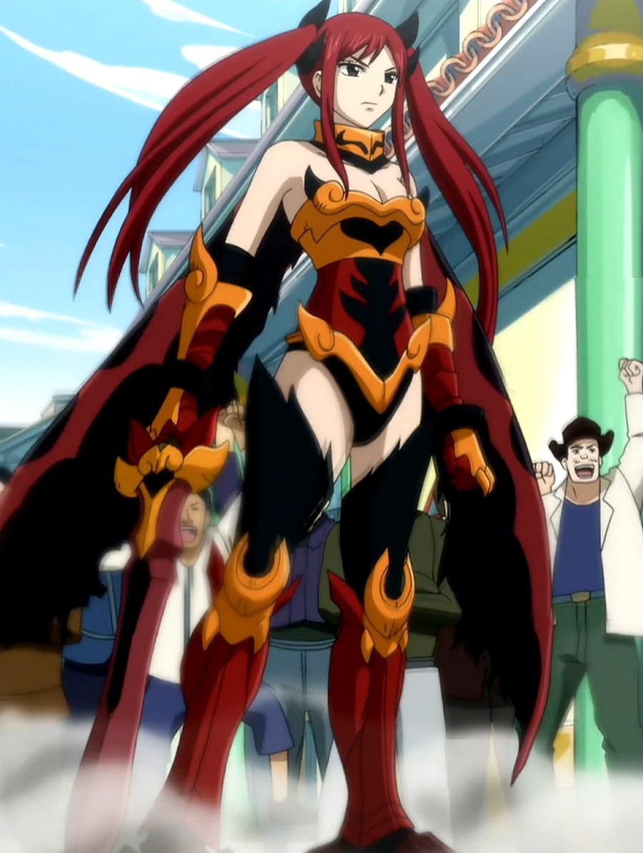 Erza Scarlet Flame Empress ArmorFairy Tail Erza Flame Empress Armor