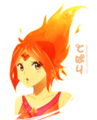 Flame Princess-Anime version