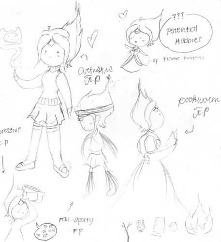 Flame Princess: Hobbies