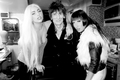 Gaga and Starlight with Ronnie Wood by Terry Richardson - lady-gaga photo