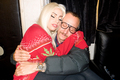 Gaga and Terry Richardson backstage at TRS concert - lady-gaga photo