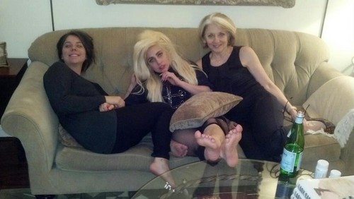 Gaga with Natali and Cynthia