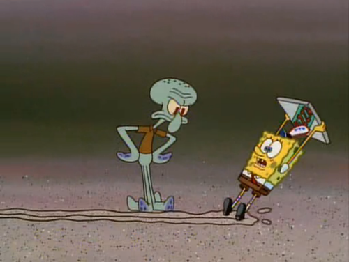 Gasp! Squidward!