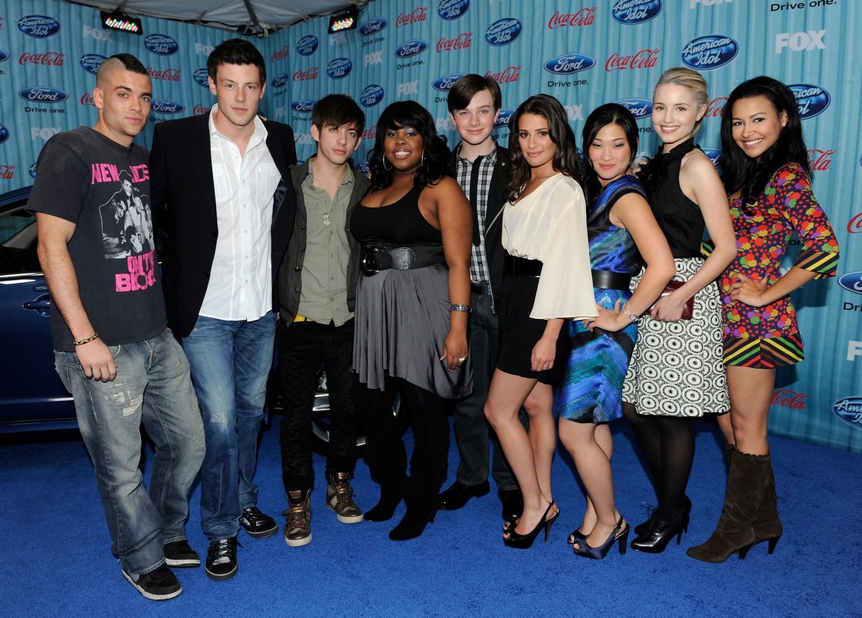 Glee glee cast