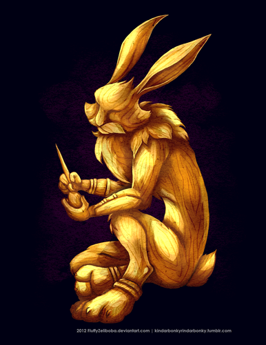 Golden Bunny