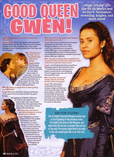 Good queen Guinevere