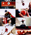 Harry Potter and the Philosopher's Stone + red