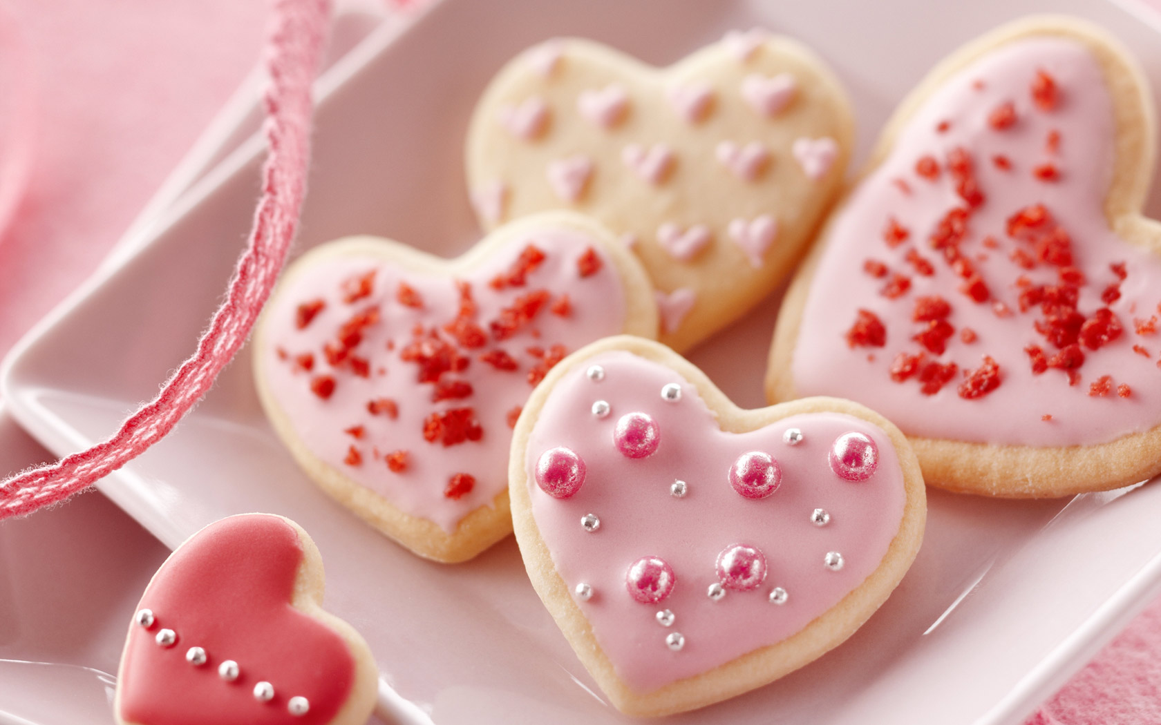 love images heart cookies hd wallpaper and background photos 33075634