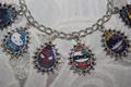 Hello Kitty Superheroes charm bracelet