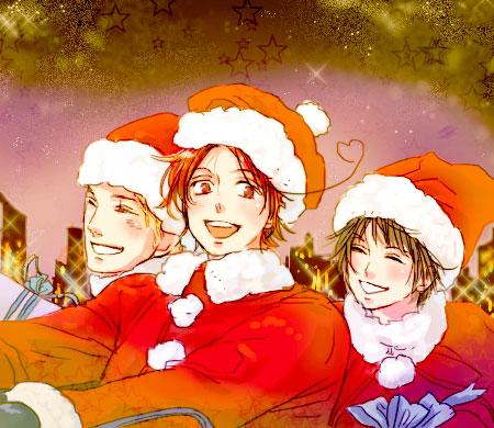 Hetalia Weihnachten