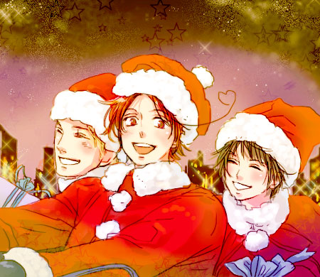 Hetalia Axis Powers - Incapacitalia Natale