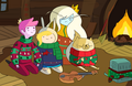 Holly Jolly Secrets Fionna & Cake - adventure-time-with-finn-and-jake fan art