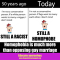 Homophobia  - gay-rights photo