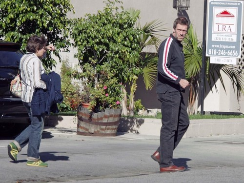 Hugh Laurie and Jo Green- West Hollywood-Califórnia( January 2006)