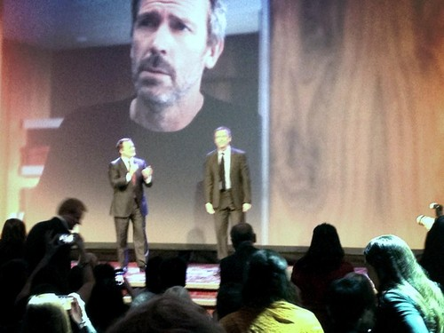 Hugh Laurie in New York for an event of L'oreal Paris. 13.12.2012