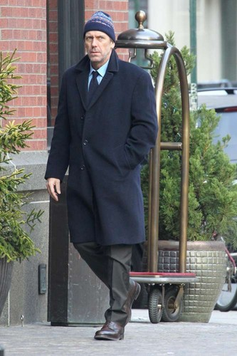 Hugh Laurie in Nova York- 18.12.2012