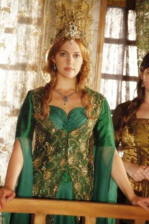 Muhtesem Yüzyil - Magnificent Century wallpaper possibly with a surcoat titled Hurrem Sultan