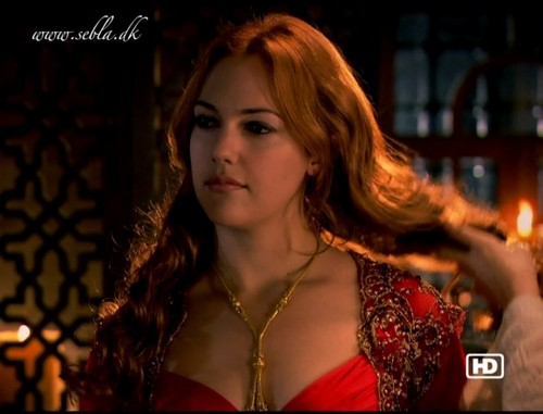 Muhtesem Yüzyil - Magnificent Century wallpaper with a portrait called Hurrem Sultan