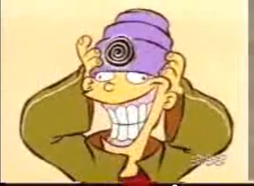 Ed, Edd and Eddy wallpaper with anime entitled Hypno-hat