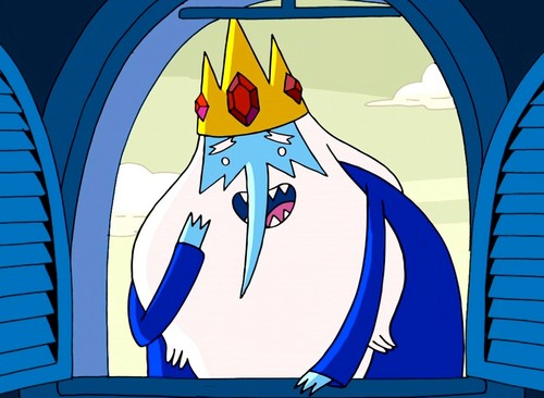 Ice King in the Window