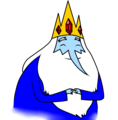 Ice King is Happy