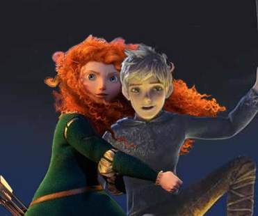 Jack Frost and Merida