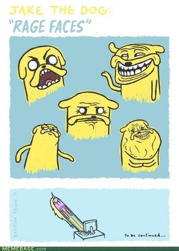 Jake the dog meme faces