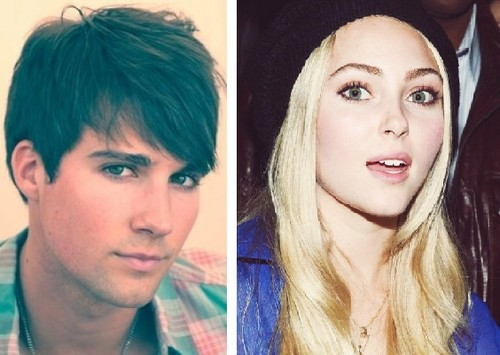 She's the Man wallpaper with a portrait entitled James Maslow & AnnaSophia Robb