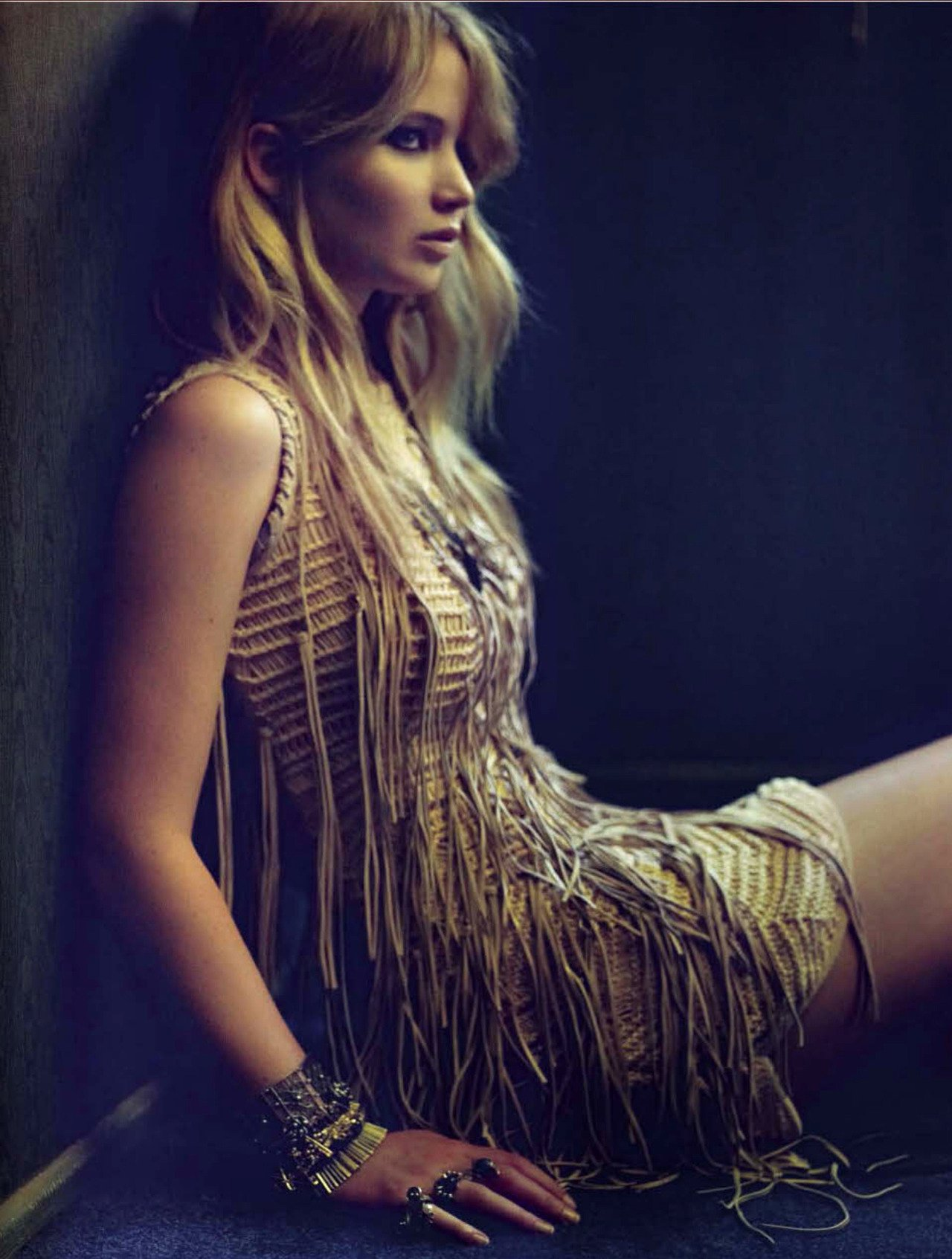 Jennifer Lawrence for Vogue Italy 2012