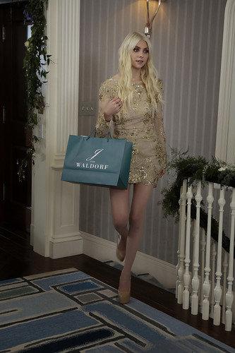 Gossip Girl fond d'écran called Jenny Humphrey's Return