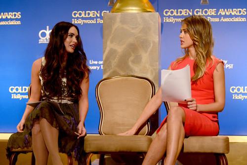 Jessica Alba at The Golden Globe Nominations